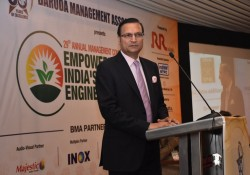Rajat Sharma Addressing the 29th AMC in Baroda